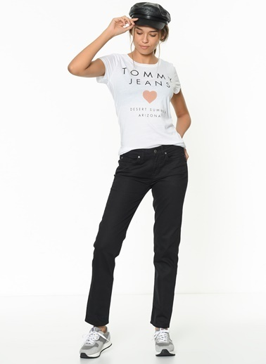 Tommy Hilfiger Pantolon | Straight Siyah